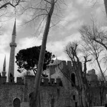 A lo lejos Hagia Sophia